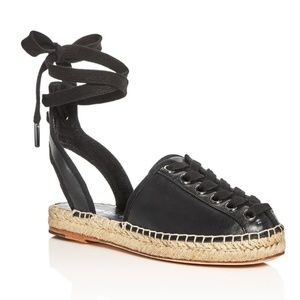 Opening Ceremony Kahsea Ankle Tie Espadrille Flats